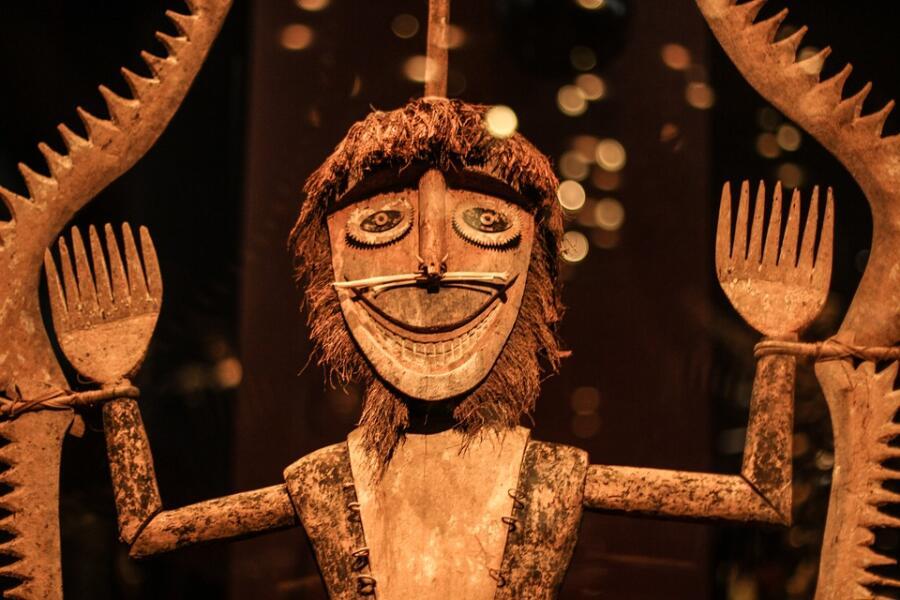 Ритуальная африканская маска