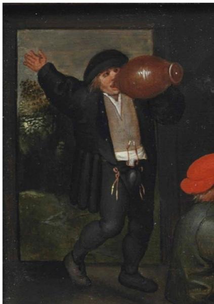 Молодой муж, фрагмент картины