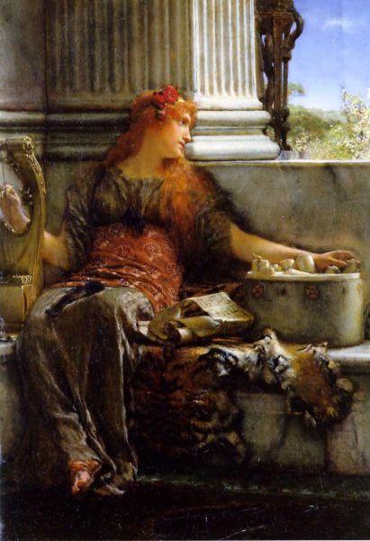 Лоуренс Альма-Тадема, «Поэзия», 1879 г.
