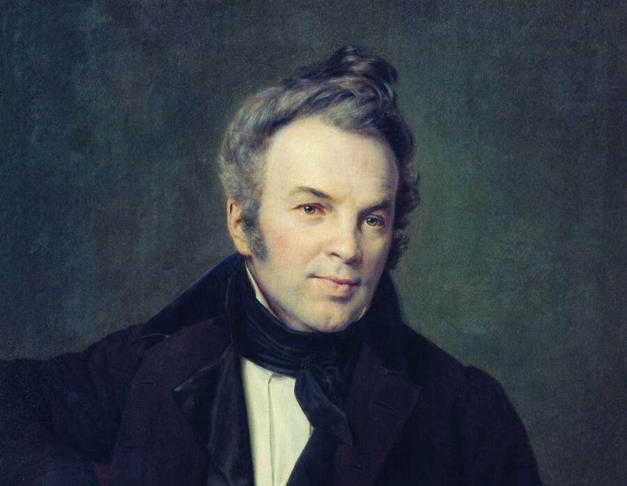 А. В. Тыранов, «Портрет И. И. Лажечникова» (фрагмент)