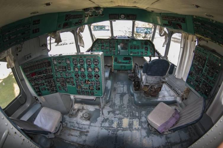 Первый этаж кабины экипажа
