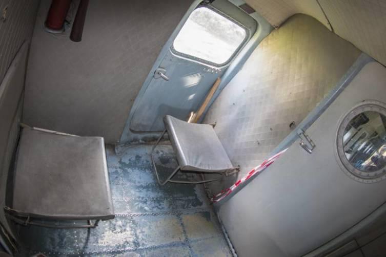 Места для пассажиров, сопровождающих груз