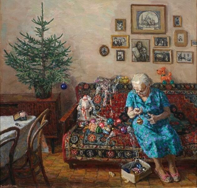 Егор Зайцев, «Рождественская ёлка», 1996г.