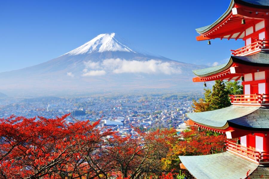 Священная гора Фудзи