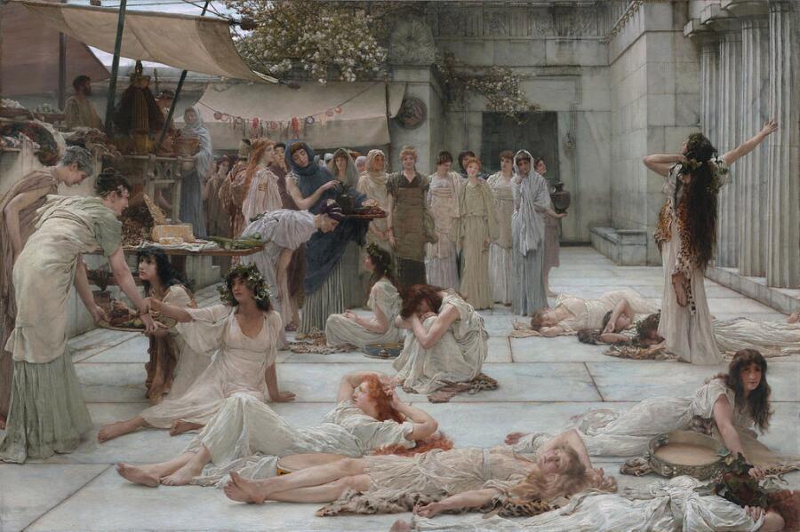 В Древнем Риме по имени хозяина называли и рабов