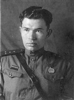 Борис Николаевич Рубцов, 1942 г.