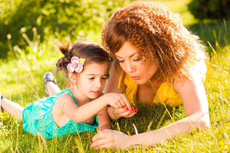 Мать ощущает биологическую связь со своим ребенком всю жизнь