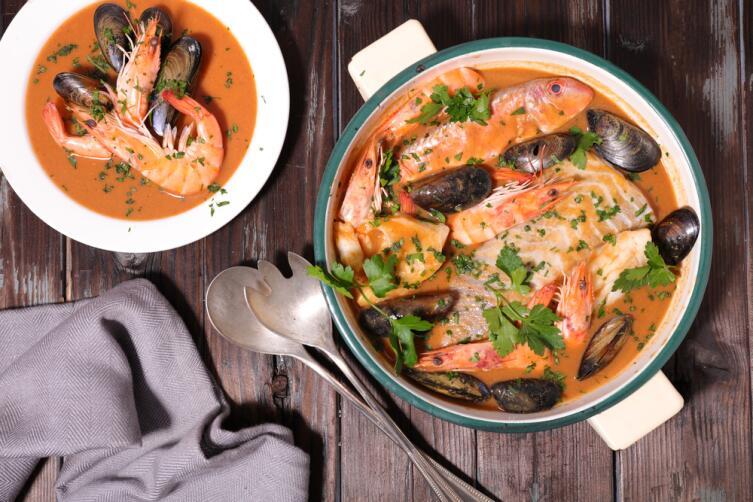 Рыбный суп - буйабес