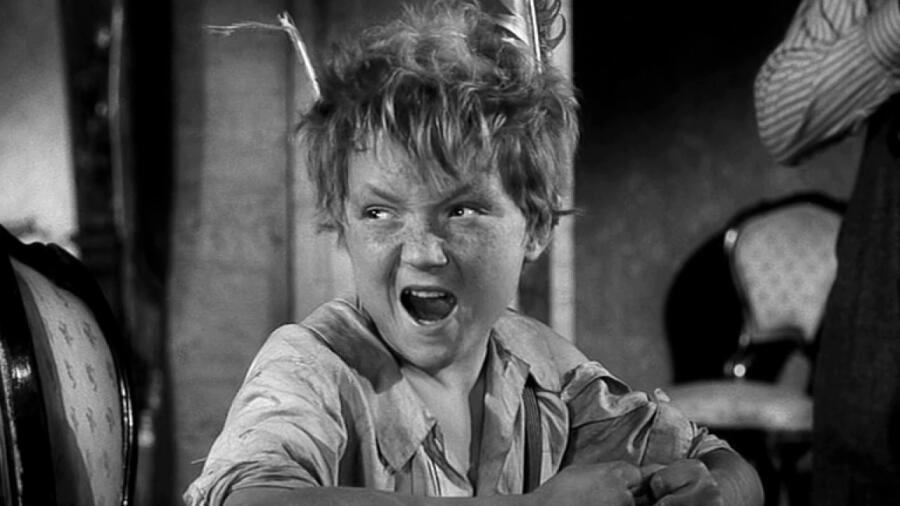 Кадр из фильма «Вождь краснокожих», части трилогии «Деловые люди», снятой по рассказам О. Генри Л. Гайдаем в 1962 г.