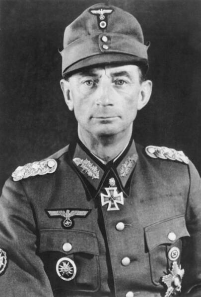 Эдуард Дитль в апреле 1943 г.