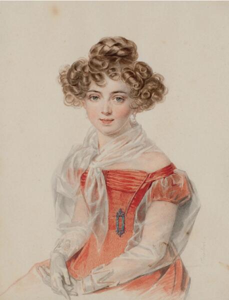 П. Ф. Соколов, «Софья Александровна Бобринская», 1827 г.