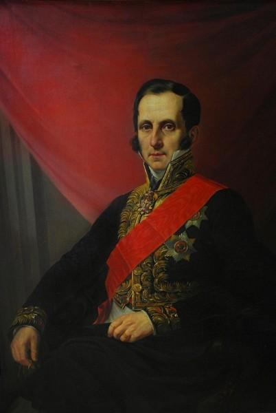 Я. К. Каневский, «Сергей Семёнович Уваров», 1844 г.