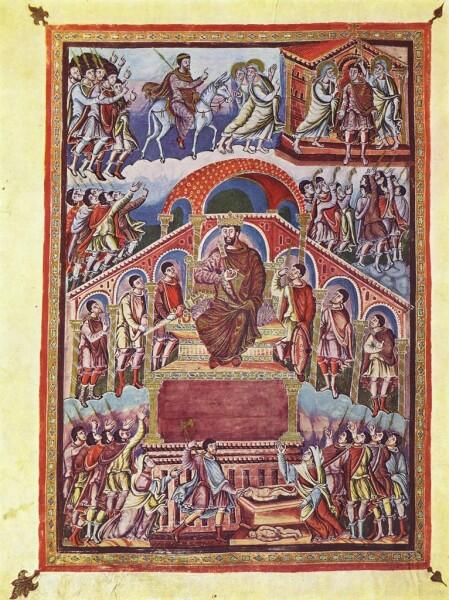 Библия Сан Пауло фуори ла Мура, ок. 880 г.