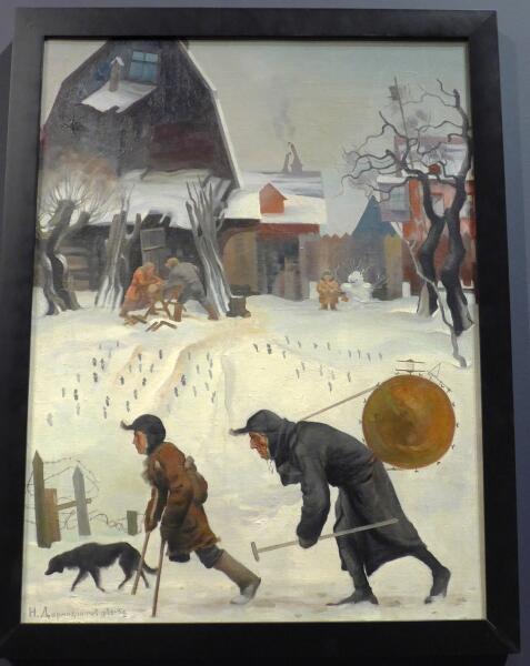 Н. И. Дормидонтов, «Музыканты», 1931−1934 гг.