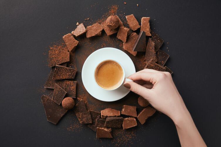 Шоколадная диета еще и вкусная
