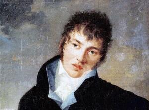 Толстой-Американец. Рисунок А.С. Пушкина