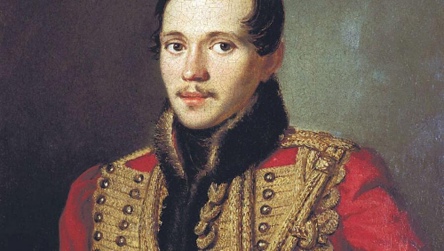 Петр Заболотский, «Лермонтов в ментике лейб-гвардии Гусарского полка» (фрагмент), 1837 г.