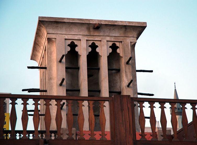 Бадгир в районе Дубая Бур-Дубай