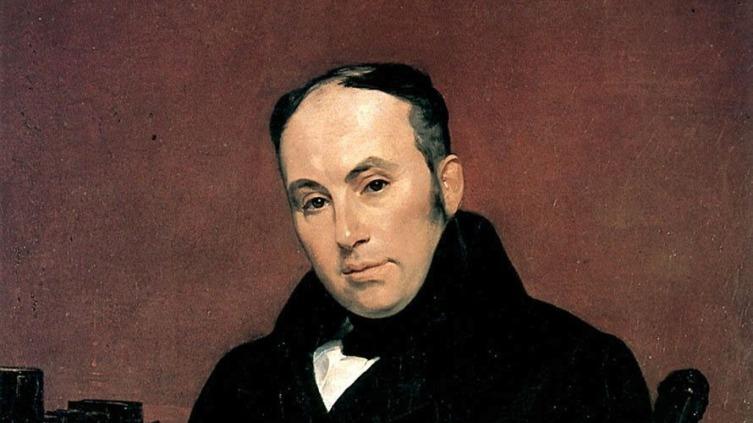 Карл Брюллов, «Портрет В. А. Жуковского» (фрагмент), 1837 г.