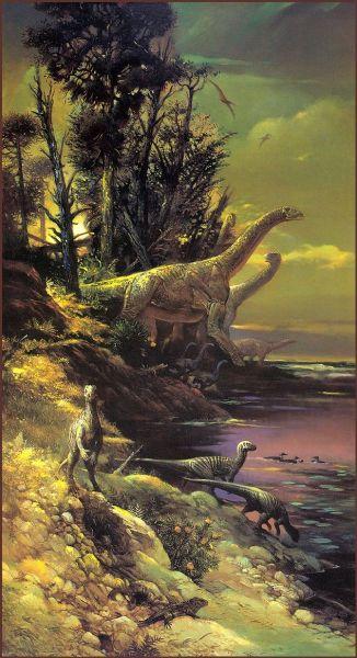 Уильям Стаут, «Антарктические динозавры»