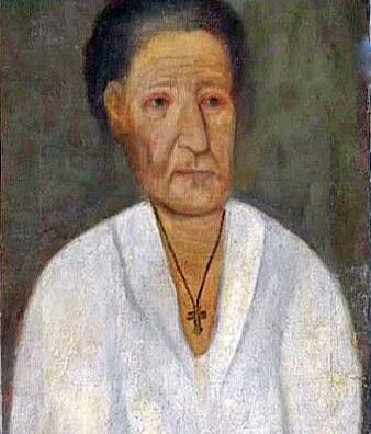 Предполагаемый портрет Ксении Петербургской