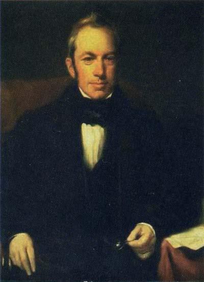 Генри Уильям Пикерсгилл, «Портрет Роберта Брауна»