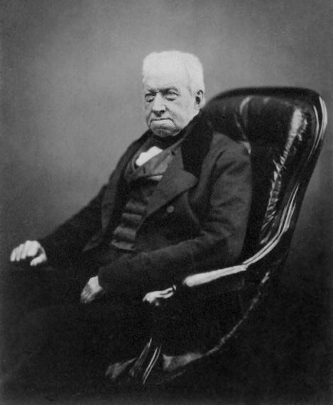 Роберт Браун в 1855 году