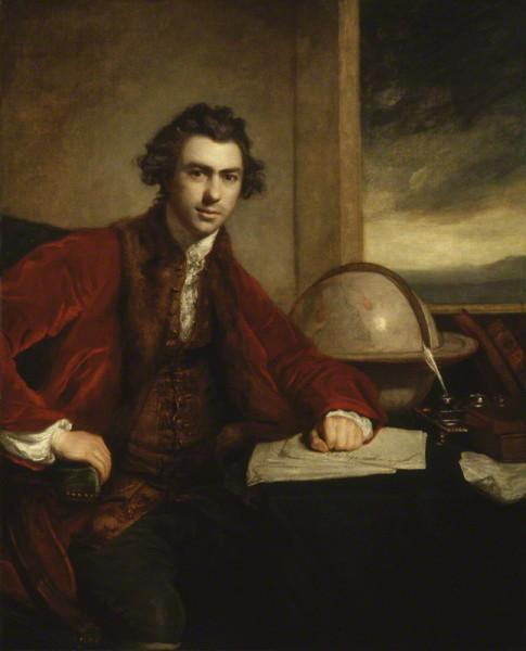 Джошуа Рейнольдс, «Портрет сэра Джозефа Бэнкса», 1773 г.