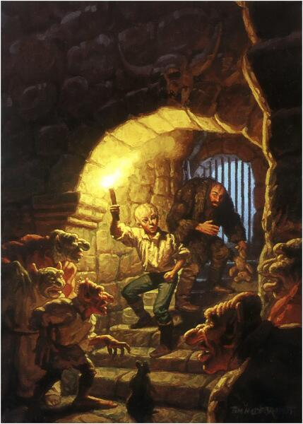 Тим Хильдебрандт, «В подземелье»