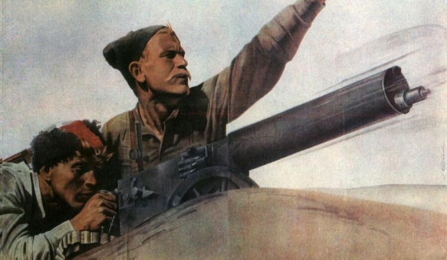 Плакат фильма «Чапаев», 1934 г.