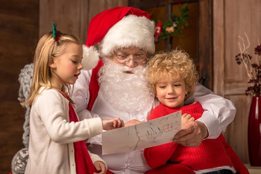 Как устроиться Дедом Морозом?