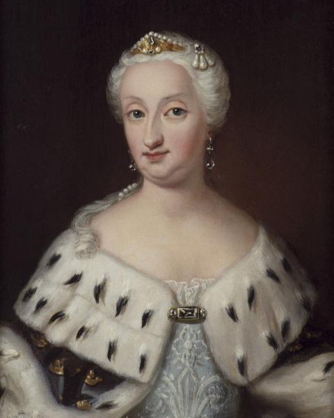 Портрет королевы кисти Ульрики Паш