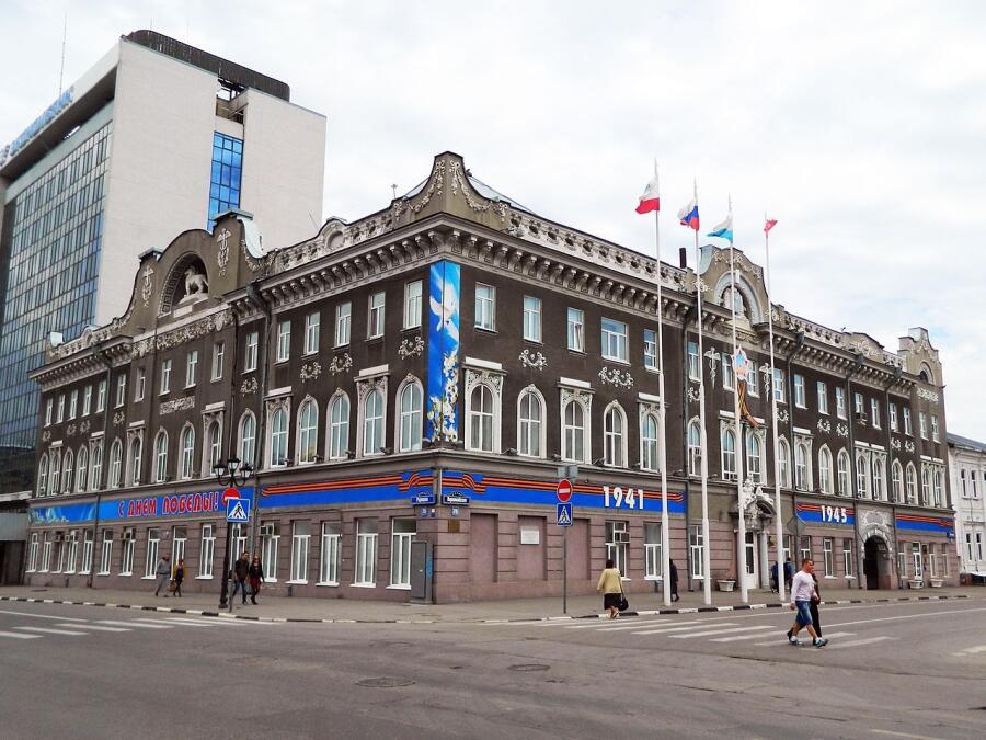 Здание администрации Саратова