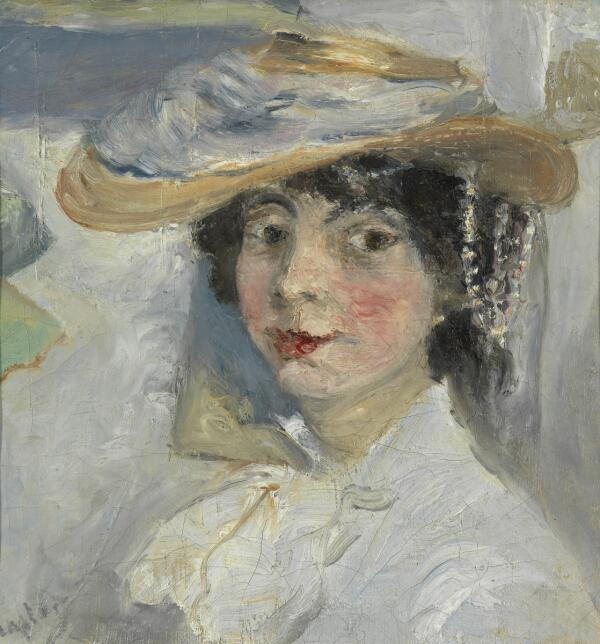М. Ф. Ларионов, «Портрет Натальи Гончаровой», 1905 г.