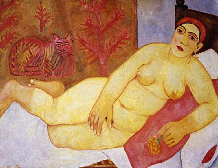 М. Ф. Ларионов, «Кацапская Венера», 1912 г.