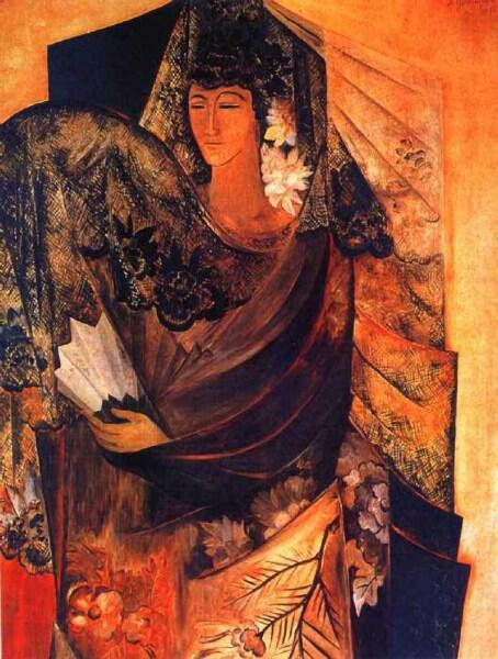 Н. С. Гончарова, «Испанка », 1913 г.