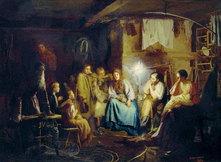 В.М. Максимов, «Бабушкины сказки», 1867 г.