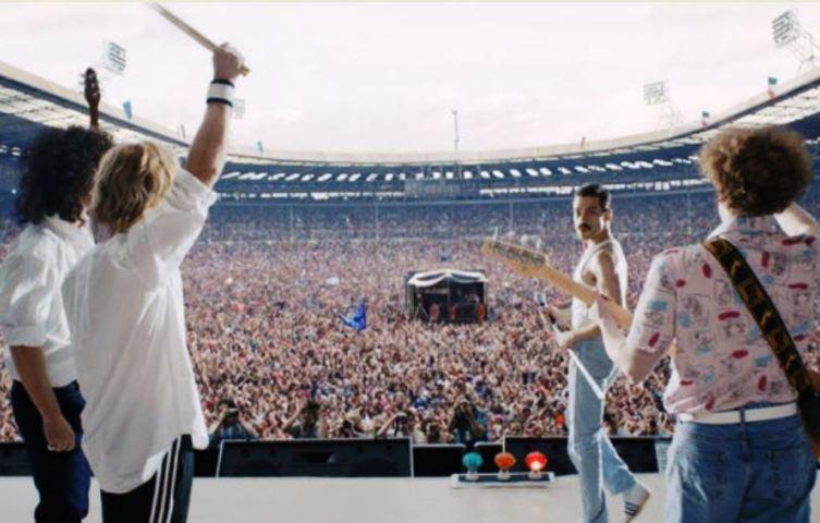 Live Aid Charity Concert в 1985 г.