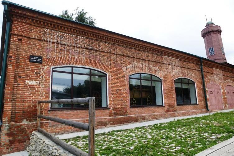 Здание бывшего Пожарного обоза