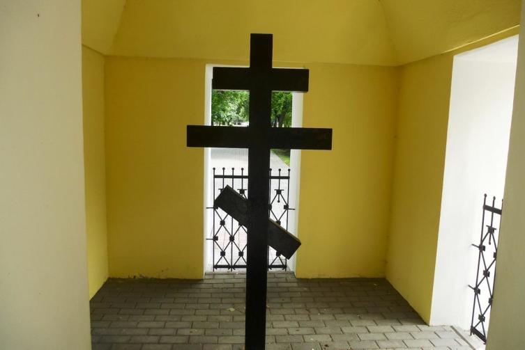 Поклонный крест в часовне