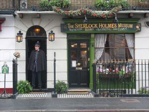 Где живет Шерлок Холмс? Дома литературных героев