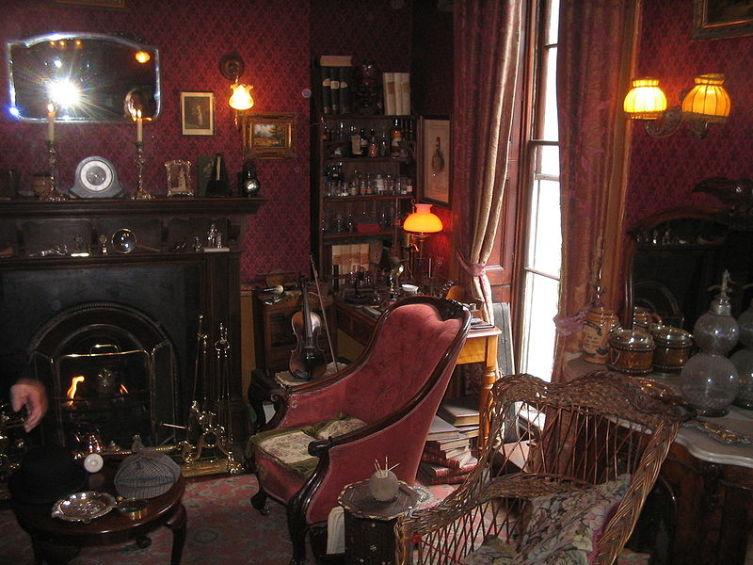 Гостиная Шерлока Холмса