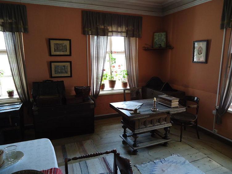 Комната для господ путешествующих . в доме станционного смотрителя