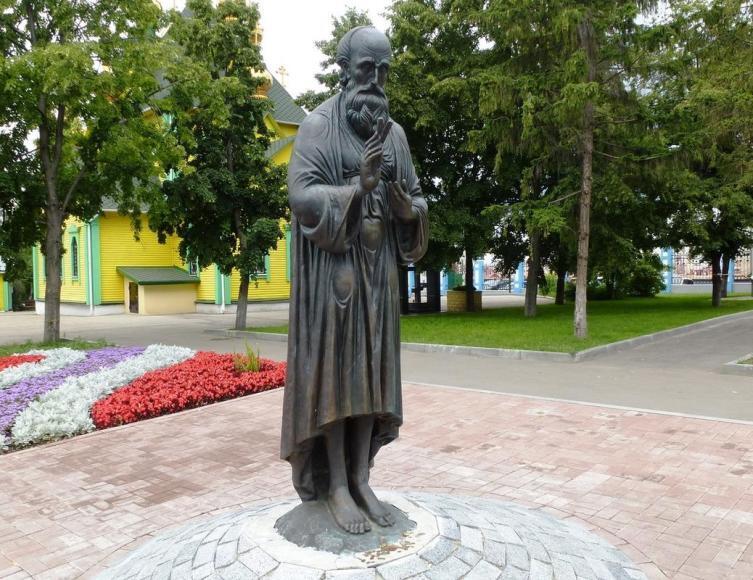 Памятник Андрею Блаженному