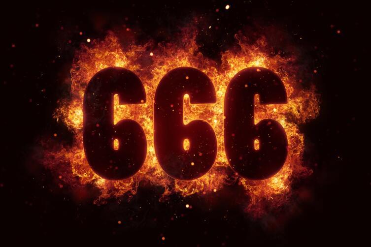 Считается, что число 666 приносит несчастье