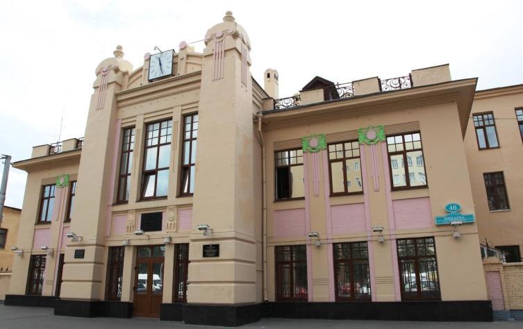 Здание городской электростанции, построенное в 1913 г.