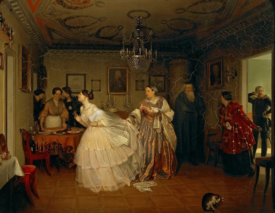 Павел Федотов, «Сватовство майора», 1848 г.