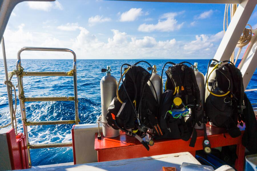 Обучение дайвингу: какое снаряжение нужно для подводного плавания?