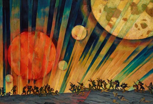 К кому из художников муза пришла в рубище и подарила любовь на всю жизнь? Константин Юон