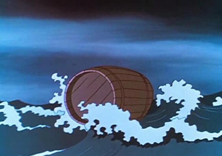 Бочка по морю плывет...